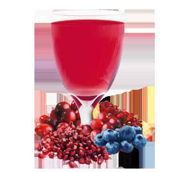 Blueberry, Cranberry, Pomegranate Drink Mix